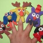 Развитие дошкольников - Пальчиковые куклы