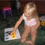 Играем с ребенком в обычные кубики
