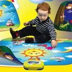 Процесс обучения малыша речи по картинкам