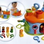 Выбор игрушек для новорожденного